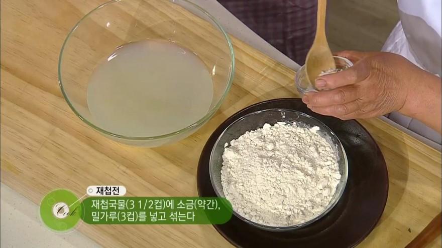 <[팔도손맛]신순이의손맛을배우다> 재첩국과 재첩전